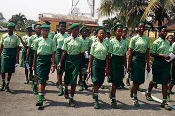 Students of Notre Dame Girls Secondary School