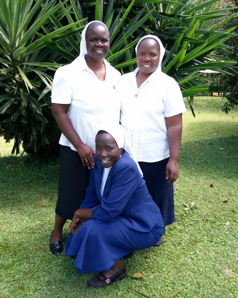 Three sisters living in Nyabururu Community.