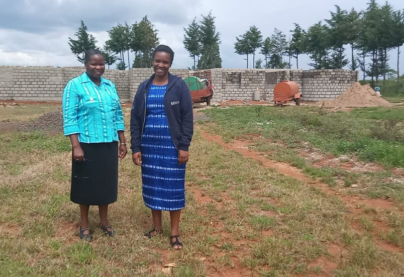 ongoing construction of convent Likuyani, Kenya