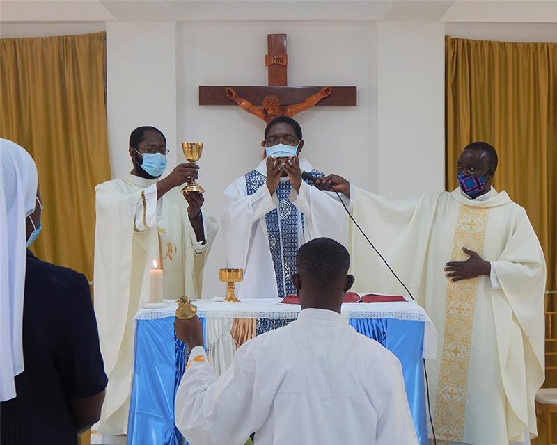 Dedication Mass final prayer.