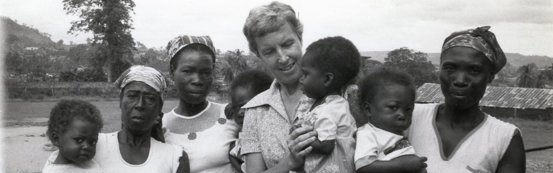 Sister Bernice Orschein in Nsawam, Ghana - 1984
