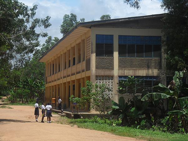 Mary Queen of Peace Catholic School in Cape Coast, Ghana
