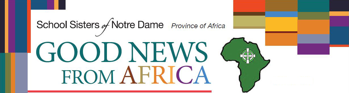 Colorful header image for Good News from Africa newsletter