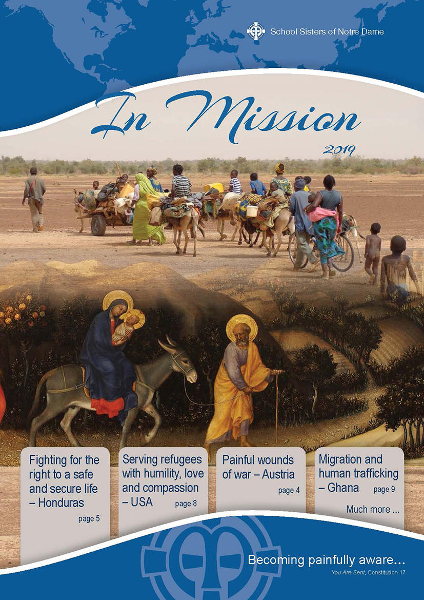 Cover image of In Mission 2019, global SSND publication