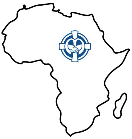 Outline of Africa with a SSND Associate pin